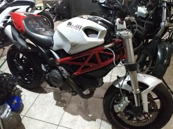 Sucata Ducati Monster 796 Ano 2013 Somente Venda De Peças