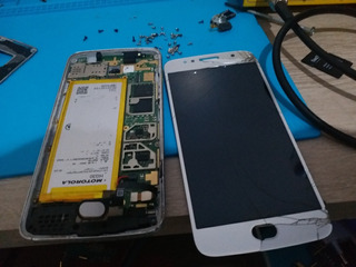 Celulares Defeito E Moto G5s 32gb(ler Anuncio