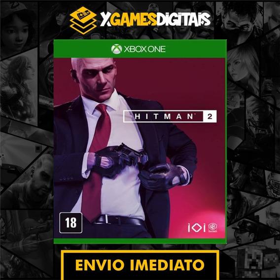 Hitman 2 Xbox One Midia Digital + 1 Jogo Brinde
