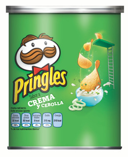 Papas Pringles Crema Y Cebolla 40 Gr