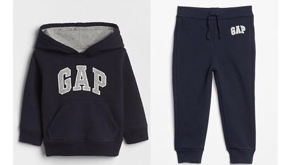 Conj Gap Sudadera Y Pantalon Marino Nuevo Talla 2 3 4 5