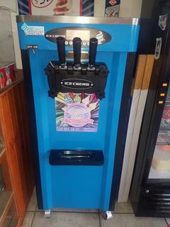 Maquina Helado Soft Ice Cream 3 Sabores 7 Meses De Uso