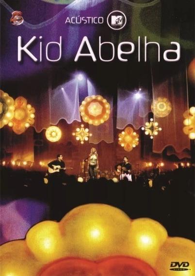 Dvd Kid Abelha - Acústico Mtv (original E Lacrado)