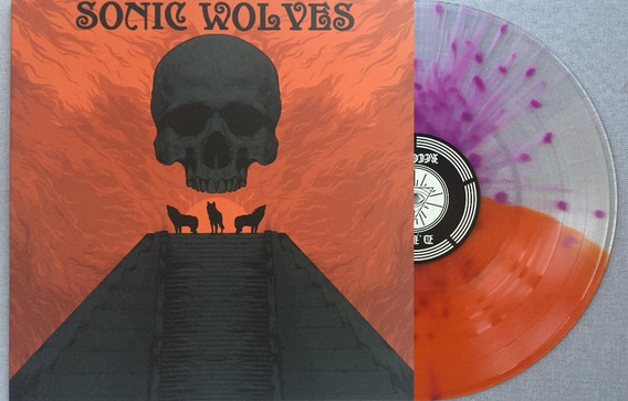 Lp Disco Vinil Sonic Wolves Limited & Numbered 78/90 ( Novo)