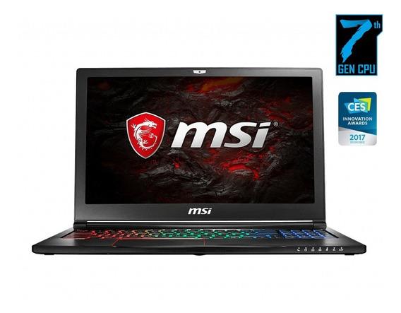 Notebook Msi Gs63vr 7rf Stealth Pro Gtx 1060 - 6gb