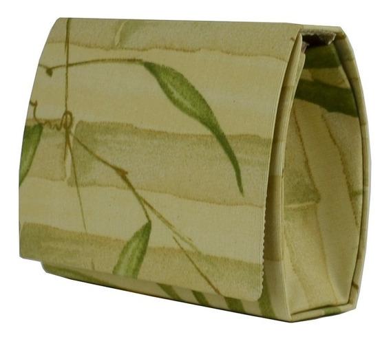 Bolsa Pequena Bambu Verde Mini Bag Menina Infanto Juvenil