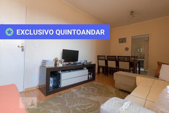 Apartamento No 1º Andar Mobiliado Com 3 Dormitórios E 1 Garagem - Id: 892944500 - 244500