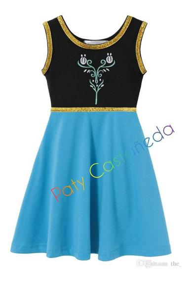 Vestidos Princesas Disney Bella Moana Increibles Frozen
