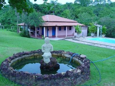 Chácara Em Centro, Aragoiânia/go De 4m² 4 Quartos À Venda Por R$ 1.000.000,00 - Ch238960