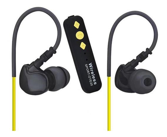 Fone De Ouvido Bluetooth Sport Ote 20 Wireless