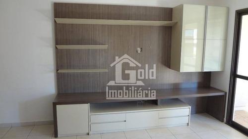 Imagem 1 de 16 de Apartamento Com 2 Dormitórios Para Alugar, 144 M² Por R$ 1.800/mês - Jardim Irajá - Ribeirão Preto/sp - Ap2558