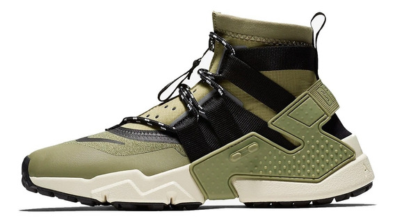 Tênis Nike Air Huarache Gripp Moss Green Imediato