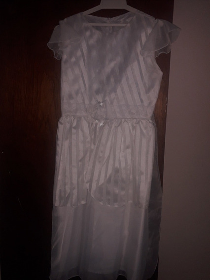 Vestido Para Primera Comunion Talla 14 Como Nuevo