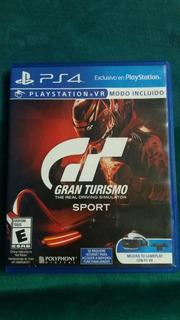 Gran Turismo Sport Ps4 Usado