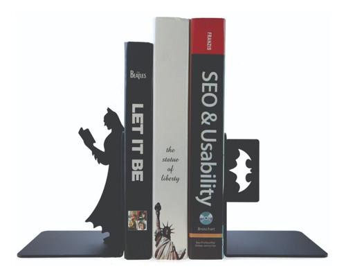 Imagem 1 de 1 de Enfeite Suporte Para Livros Decorativo - Batman Em Mdf
