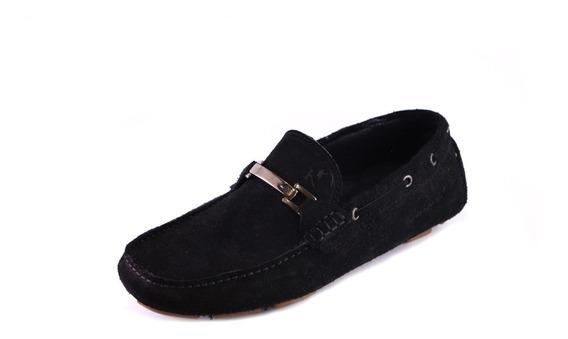 Zapatos Driver Mocasines Peskdores Black Drbl0056