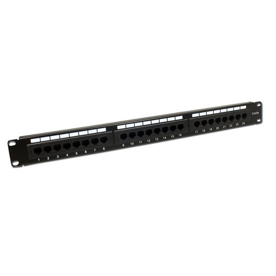 Patch Panel Cat 5e 24 Portas - Ld Cabos