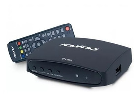 Conversor Digital Aquário Dtv7000 S Função Gravador Hdmi Rca