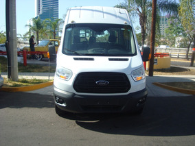 Ford Transit 2.2 Pasajeros Larga Techo Alto Custom Mt 2016 B