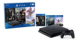Sony Ps4 Playstation Slim 1tb 3 Juegos Nuevo Rematando(320)