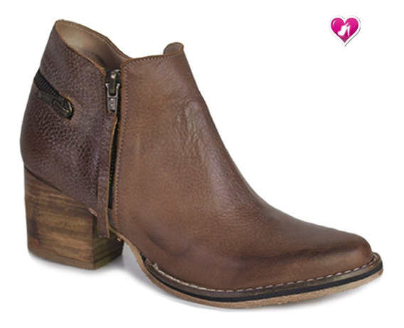 Bota Botineta Texana Top Model Rustica Aw19 De Shoes Bayres
