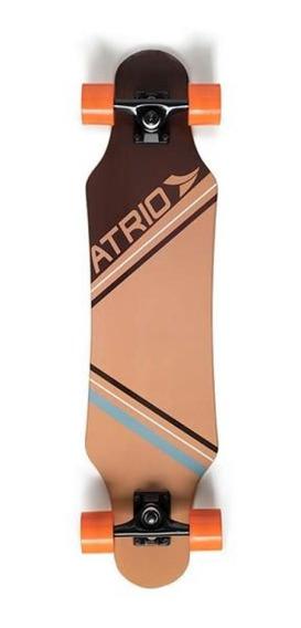 Skate Longboard Urban Sand Rodas De Polímero Atrio - Es249