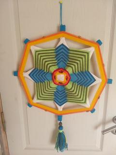 Mandala Tejido A Mano 0,50 Cm