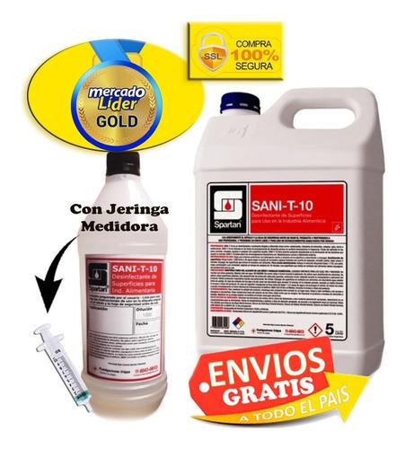 Amonio Cuaternario De 5ta Gen Ultra Concentrado Rinde 500 L