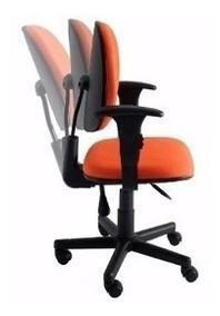 Cadeira Executiva Ergonômica Giratória Back System Nr 17
