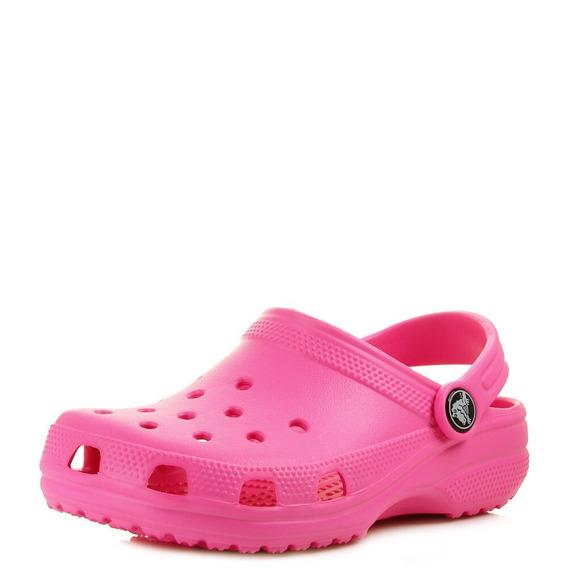 Crocs Originales Classic Adulto Neon Magenta