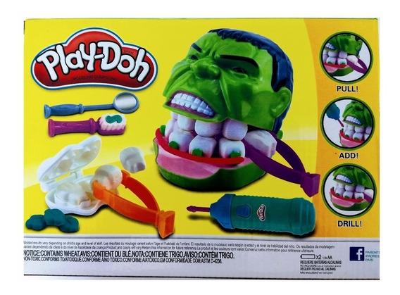 Brinquedo De Dentista - Hulk - Play Doh + Frete Gratis