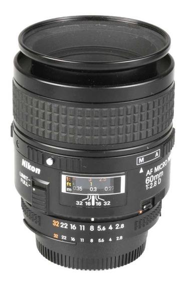 Objetiva Nikon Af 60mm F2.8d Micro
