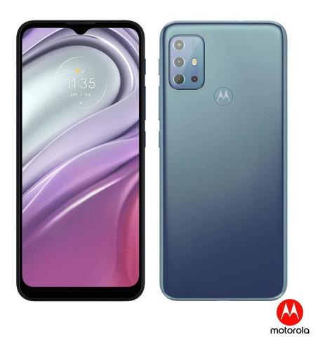 Imagem 1 de 10 de Smartphone Motorola Moto G20 64gb 4gb Tela 6.5  - Azul