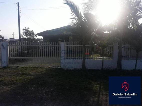 Ótima Casa No Baln Brasília Com Amplo Quintal, Na Rua Da 3ª Pedra - Ca0021