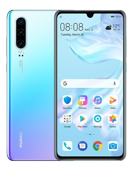 Huawei P30 128gb + 6gb Ram Nuevo Garantia Msi