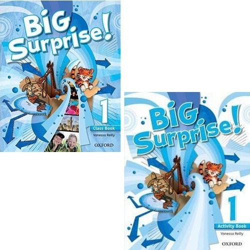 Big Surprise 1 - Class Book And Activity Book - Oxford