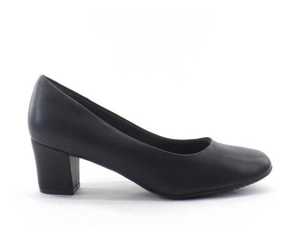 Zapato Clasico Mujer Picadilly Uniforme Taco Liquidacion