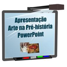 Aula De Arte Na Pré-história Em Powerpoint