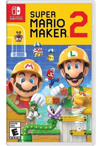 Super Mario Maker 2 Nintendo Switch Mídia Física Lacrado