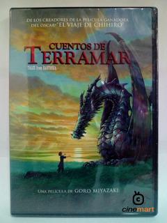 Cuentos De Terramar Goro Miyazaki Pelicula Dvd