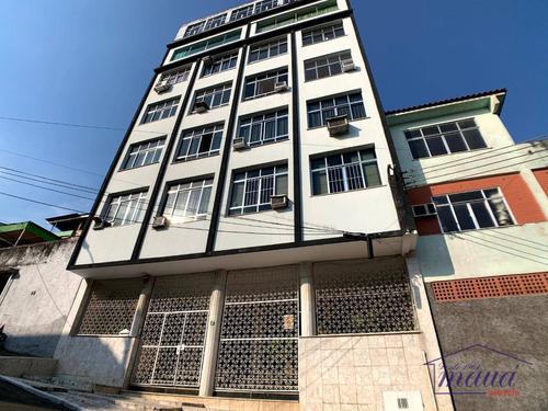 Apartamento Com 1 Dormitório, 40 M² - Venda Por R$ 110.000,00 Ou Aluguel Por R$ 550,00/mês - Jardim Vinte E Cinco De Agosto - Duque De Caxias/rj - Ap0206