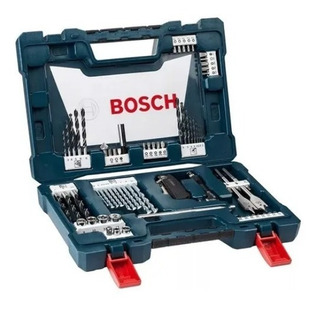 Set Kit Maletín Juego Bosch V-line 68 Pzs Puntas Mechas