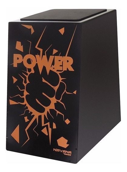 Cajon Liverpool Nirvana Microfonado Can003m Estampa Power