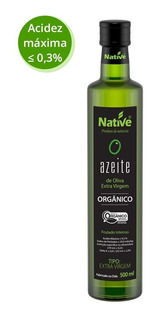 5 Unid. Azeite De Oliva Extra Virgem Orgânico Native 500ml