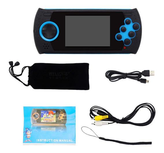 16 Bits Portátil Mini Handle Gaming Console 100 Incorporado