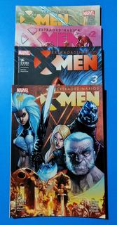 Comic Extraordinarios X-men - Los 4 Numeros - Saga Refugio X