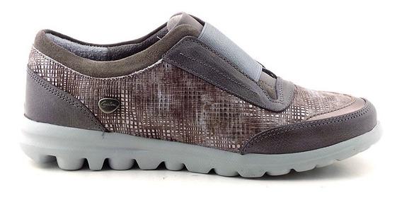 Cavatini Zapatilla Mujer Cuero Zapato Confort - Mczp05181