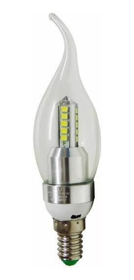 5 Lampada Vela Led E14 5w Led Com Bico Lustres E Pendentes