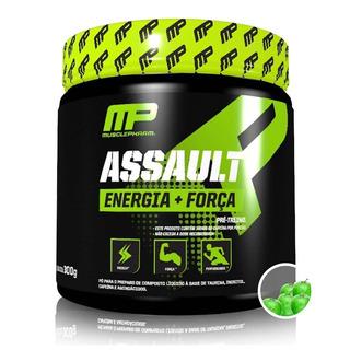 Mp Assault Musclepharm 300g (60 Doses) Pré Treino Sabores
