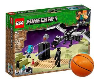 Lego Minecraft La Batalla En El End 21151 + Regalo - El Rey
